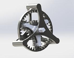 Planetary Gear 3D print model