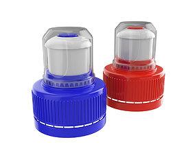 3D model Pull - Push Sport Bottle Cap