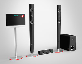 3D model LG Home Theater