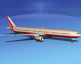 Boeing 777-300 MP Southwest Airlines 3D