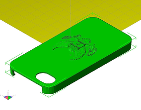 3D print model Eagle Molan Labe Iphone 5