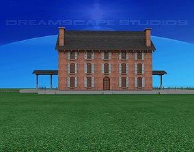 3D Old Railroad Depot
