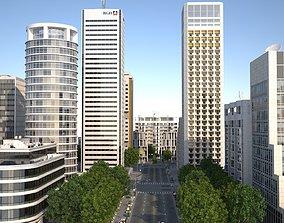 3D asset White City