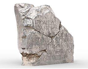 Perge Ancient Rock 6 3D asset