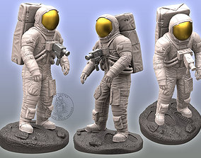 armstrong Apollo Astronaut Sculpture 3D print model
