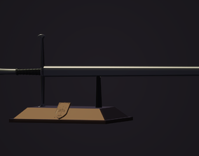 3D printable model Anduril and Holder - Lord Of The Rings