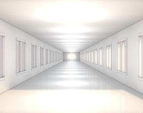 bio 3D model realtime Sci Fi Corridor