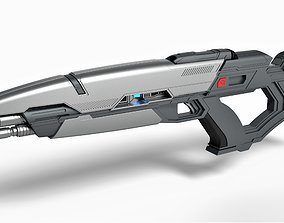 3D model Phaser rifle from the movie Star Trek Into 2
