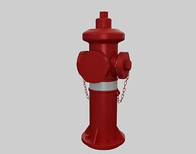Fire Hydrant 4 - Safety and Emergency Equipment 3D model