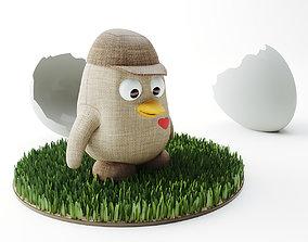 3D model kid Toy Penguin