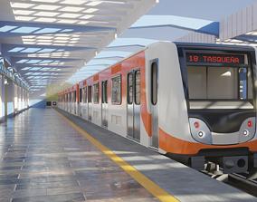 3D model Mexico City Subway