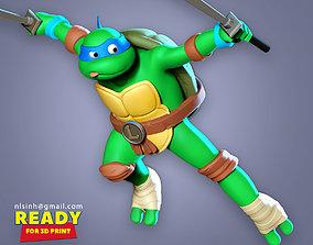 Teenage Mutant Ninja Turtles Leo Fan 3D printable model