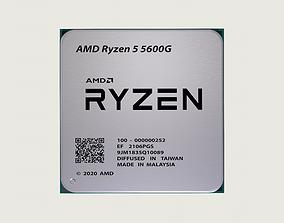 3D asset CPU AMD Ryzen 5 5600G
