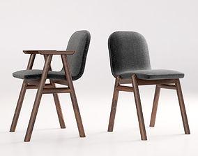 Jardan Bay armchair 3D simple