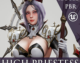 High Priestess - Game Ready 3D asset