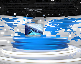 3D Virtual Broadcast Studio 18