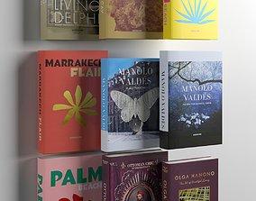 Books 08 3D model