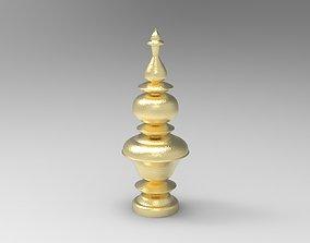 Brass Kalash with Lathe modifier 3D printable model