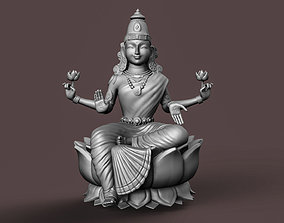 3D print model Indian Goddess Laxmi