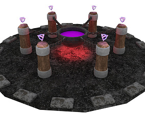 3D model Magical Cauldron