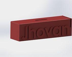 Moneybox Customizable 3D printable model