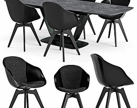 3D Table and chair Alicante Adelaide