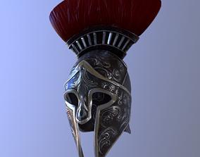 3D model Roman Helmet Empire
