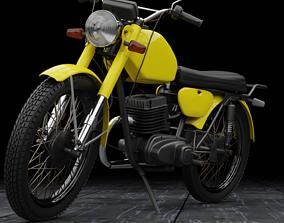 3D model MMVZ Minsk 3 112 soviet motorcycle
