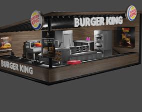 3D Burger King I Kiosk