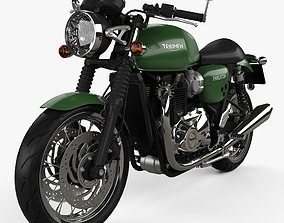 3D model Triumph Thruxton 1200 2018