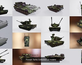 3D model Finnish Tanks Collection