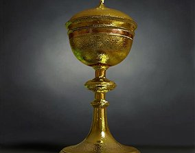 3D model Gold Chalice Holy Grail