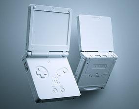 3D Gameboy Advance SP