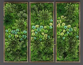 3D asset Vertical gardening 015