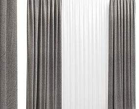 Curtain 4 3D model