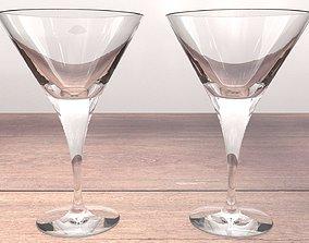 3D asset Martini Glass
