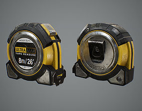 Tape Measure 3D model game-ready