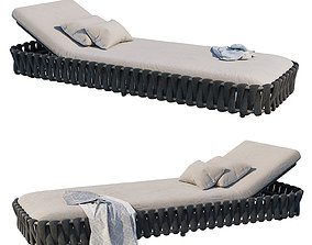 3D Tosca Adjustable Lounger