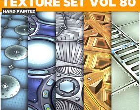 Scifi Vol 80- Game PBR Textures 3D asset