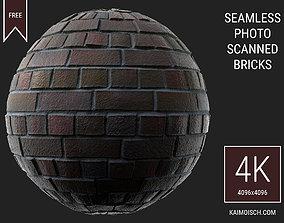 3D Scanned Seamless Bricks 4k
