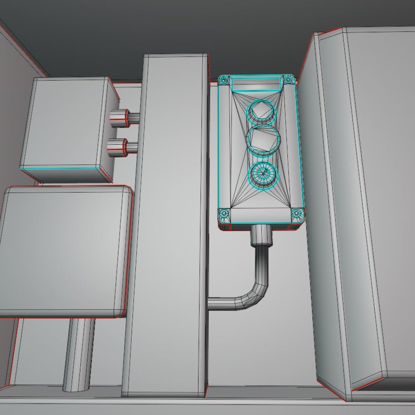 Pump panel 3  updated for use in Blender-2-93