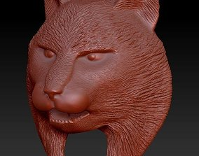 3D print model Lynx Head