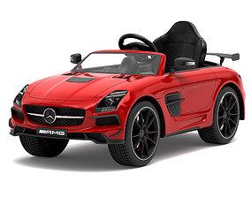 Toy car Mercedes-Benz SLS AMG 3D model