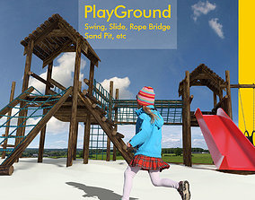 3D model Playground for children