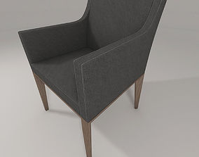 3D model bess armchair by calligaris