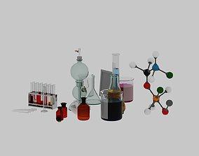 chemistry set 3D model 01