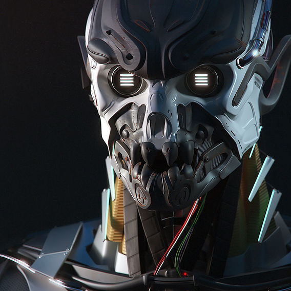 Cyborg Prototype | Participant of CGTrader Awards