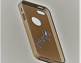 3D print model iPhone 5 case sport