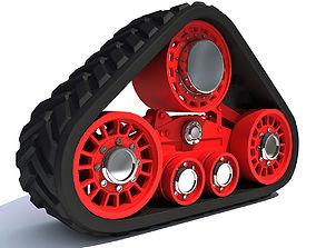 Red Crawler 3 3D model