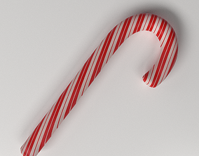 Candy Cane 3D
